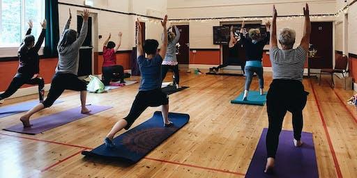 Community Yoga in Hereford - Zsálya Yoga