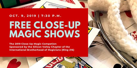 Free Close-Up Magic Shows - One Day Only tickets