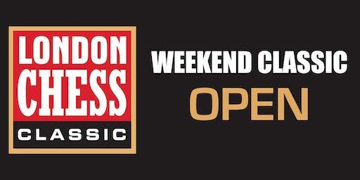 Weekend Tournaments: Open