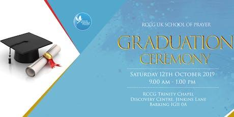 RCCG School of Prayer Graduation Registration tickets