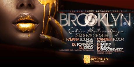 Latin Saturdays at Brooklyn Nightclub tickets