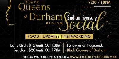 Black Queens of Durham 2nd anniversary social