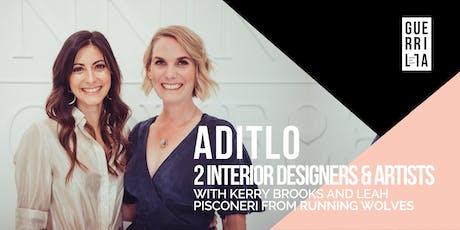 ADITLO : 2 INTERIOR DESIGNERS AND ARTISTS tickets