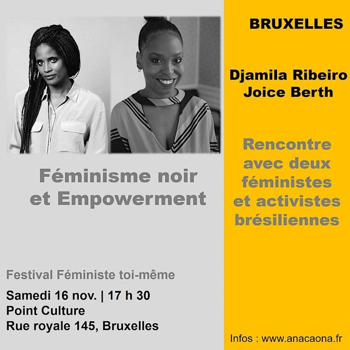 Image pour Féminisme noir et Empowerment : Djamila Ribeiro & Joice Berth