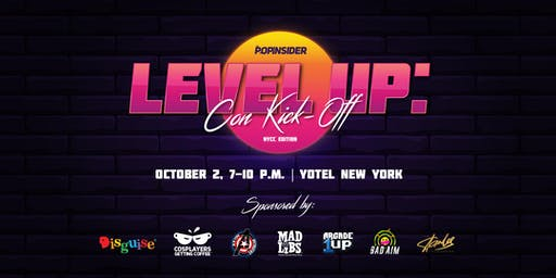 LEVEL UP: The Pop Insider's NYCC Kick-Off Party