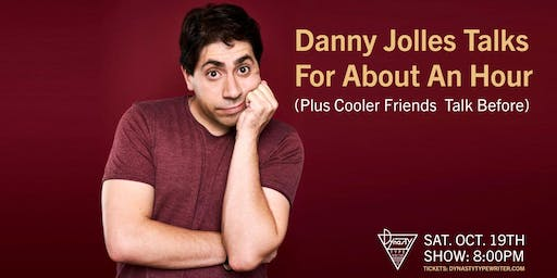 Danny Jolles Talks for About an Hour (Plus Cooler Friends Talk Before)
