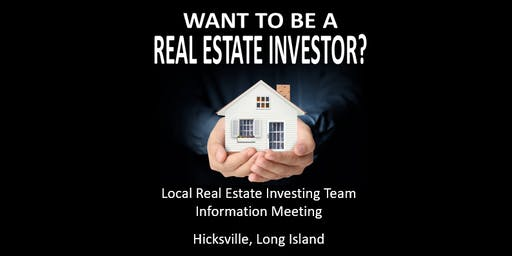 REAL ESTATE INVESTOR INFORMATION MEETING- Hicksville, Long Island