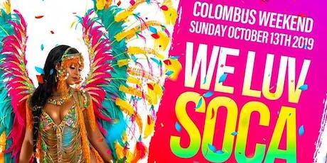 We Luv Soca NYC tickets
