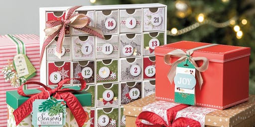 We'll complete this fabulous advent calendar home decor project.