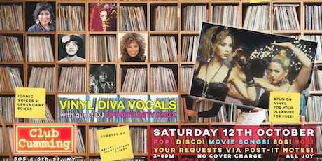 Vinyl Diva Vocals Saturday Tea Party tickets