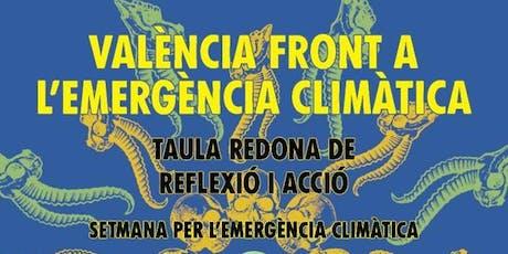 València front a l'Emergència Climàtica entradas