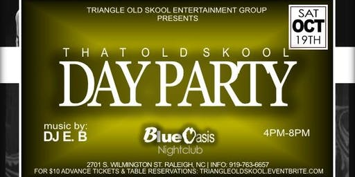 That Old Skool Day Party | October Edition