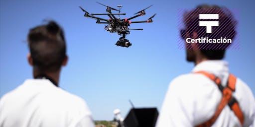 [COMPLETO] Certificación de Piloto avanzado de Drones | Talentia Summit '19