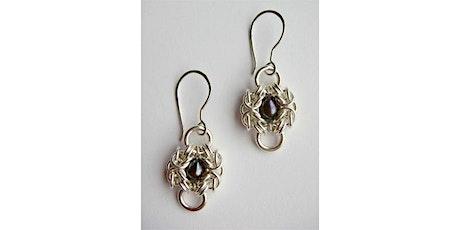 Silver Peacock Earrings tickets