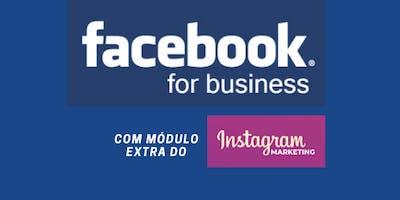 Facebook Business para Iniciantes com Módulo Extra para Instagram ADS.