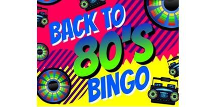 Back to the 80's Sale-A-Bration Bingo