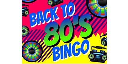 Back to the 80's Sale-A-Bration Bingo