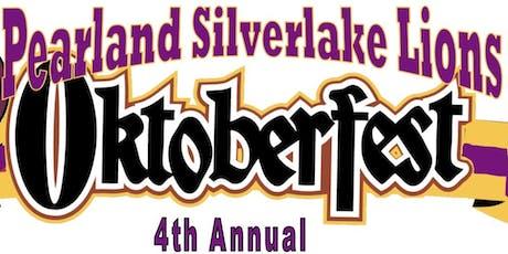 4th Annual OKTOBERFEST -- Pearland Silverlake Lions Club tickets
