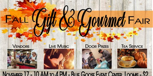 Fall Gift & Gourmet (featuring afternoon tea)