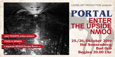 Samstag - PORTAL - enter the upside down Tickets