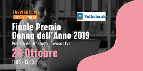 Evento finale Premio Donna dell'anno 2019 tickets