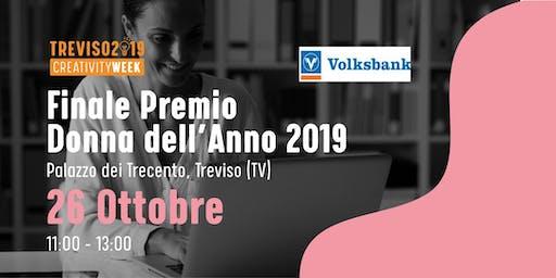 Evento finale Premio Donna dell'anno 2019