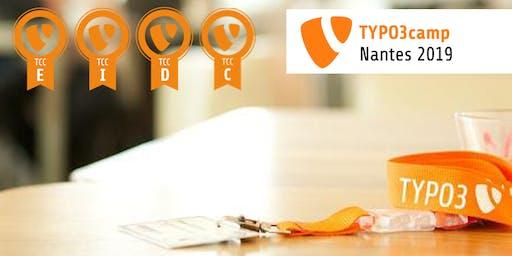 TYPO3 Certification during TYPO3Camp Nantes 2019