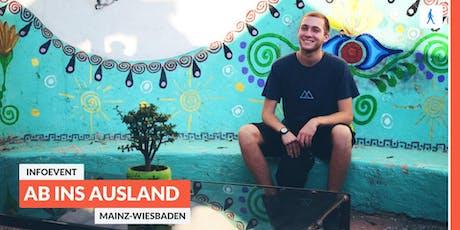 Ab ins Ausland: Infoevent zu sozialen Projekten im Ausland | Mainz-Wiesbaden Tickets