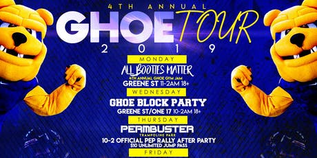 #GHOETOUR2019 tickets