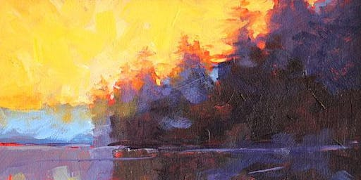 Abstract Fall Landscape