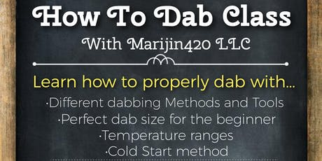 Dab Class-How To Dab tickets