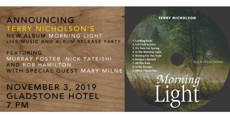 Terry Nicholson's Live Music and Album Release Party tickets