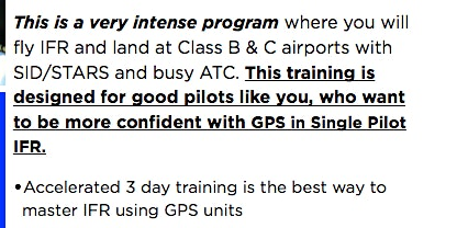 3 Day Mastering Single-Pilot IFR Program - Jan 2020