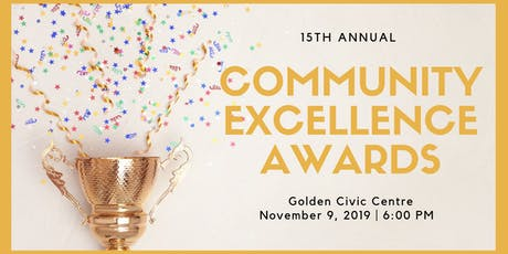 2019 Community Excellence Awards tickets