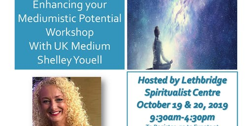 Enhancing your Mediumistic Potential  Workshop,  UK Medium Shelley Youell
