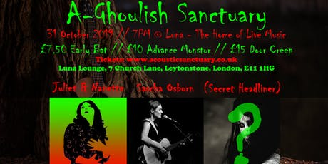 A-Ghoulish Sanctuary: Halloween Gig & Party in Aid of SameYou tickets