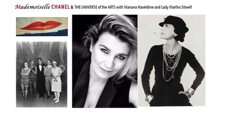 Mademoiselle CHANEL & THE UNIVERSE of the ARTS The Mayfair Literary Fest tickets