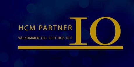 HCM Partner 10 år! biljetter