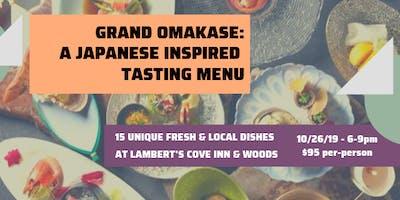 Grand Omakase: A Japanese Dinner Tasting
