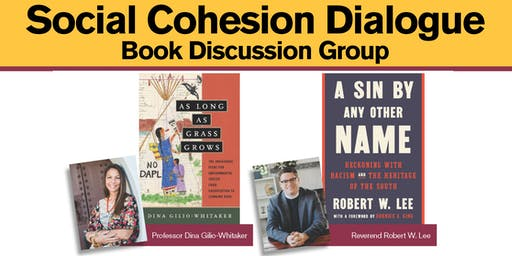 Social Cohesion Dialogue Book Discussion Group - Oct. 29