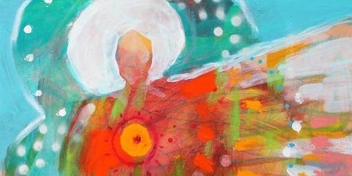 New Moon Intuitive-Spirit Painting