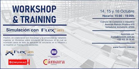 FlexSim Workshop y Training en Valladolid entradas