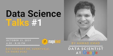 Data Science Talks #1 tickets