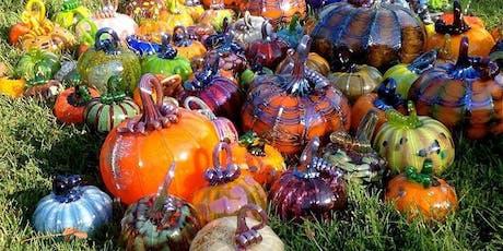 Glass Pumpkin Patch! Live Oak Grange Oct 26 & 27, 10-4pm tickets