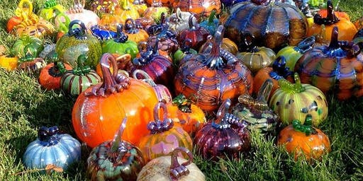 Glass Pumpkin Patch! Live Oak Grange Oct 26 & 27, 10-4pm