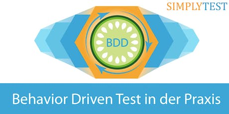 Behavior Driven Development & Test in der Praxis - Schulung  Tickets
