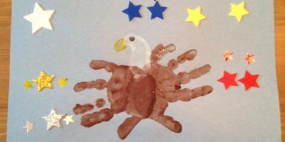 Veteran's Day Hand print Eagles