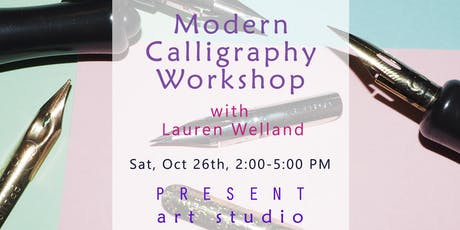 Modern Calligraphy Workshop for Beginners in Vancouver with Lauren Welland tickets