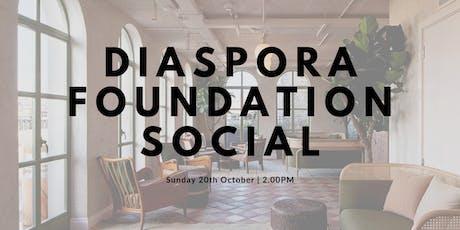 Diaspora Foundation Social tickets