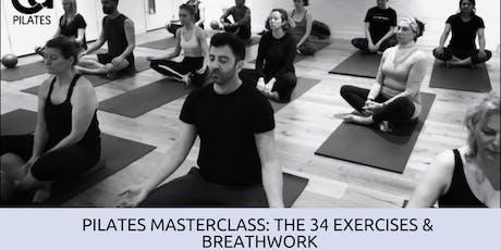 Pilates Masterclass:34 Classical exercises & Breathwork tickets